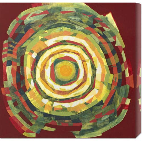 Global Gallery Target II by Nino Mustica: 24 x 24 Canvas Giclees, Wall Art