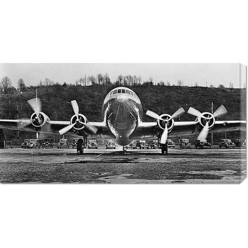 Global Gallery Passenger Transport Plane, 1938 by Anonymous: 36 x 18 Canvas Giclees, Wall Art