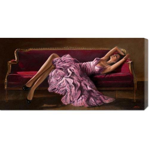Global Gallery Jasmine by John Silver: 36 x 18 Canvas Giclees, Wall Art