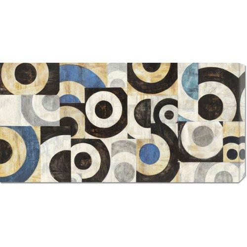 Global Gallery Universo Circolare by Sandro Nava: 36 x 18 Canvas Giclees, Wall Art