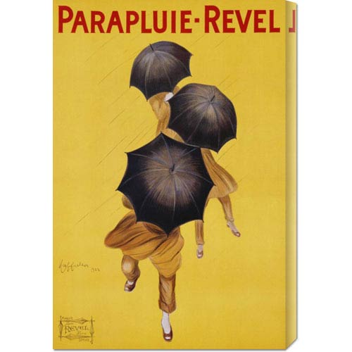 Global Gallery Parapluie-Revel, 1922 by Leonetto Cappiello: 20 x 30 Canvas Giclees, Wall Art