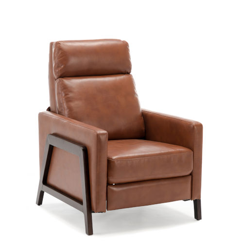 Maxton Caramel Push Back Recliner