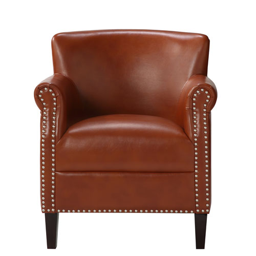 Holly Caramel Club Chair