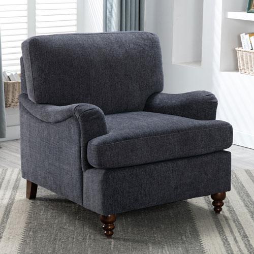 Clarendon Navy Arm Chair