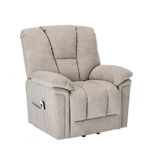 Charleston Sand Microfiber Upholstery Lift Chair