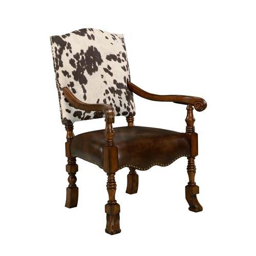 Walnut  Jaxon Accent Chair