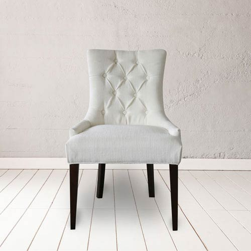 Madelyn Snow Tufted Chair