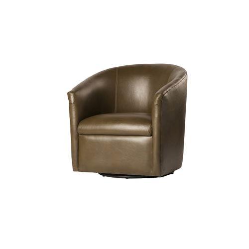 Draper Mink Swivel Chair