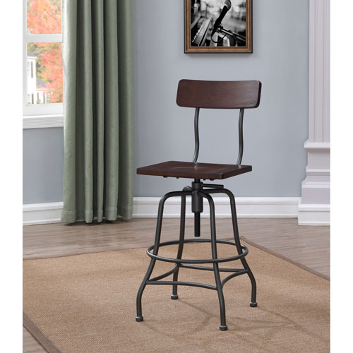 Comfort Pointe Grifton Adjustable Height Stool