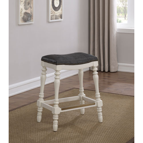 Coventry Saddle Seat Counter Stool