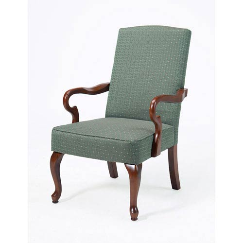 Crystal Patina Gooseneck Arm Chair