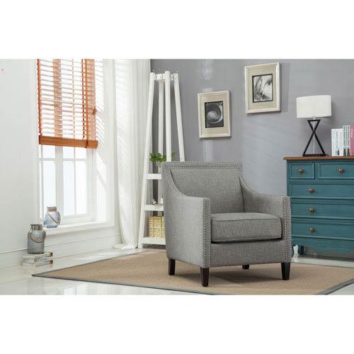 Taslo Gray Accent Chair