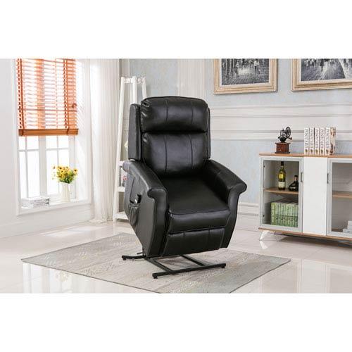 Comfort Pointe Lehman Black Traditional Lift Chair