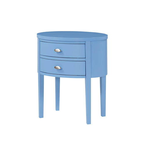 Verena Blue Nightstand