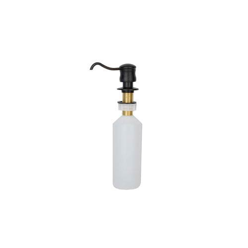 Solid Brass Oil Rubbed Bronze Soap and Lotion Dispenser