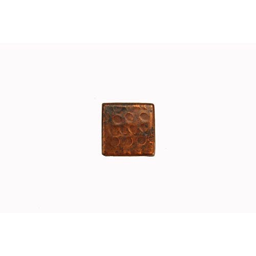 2x2-Inch Hammered Copper Tile