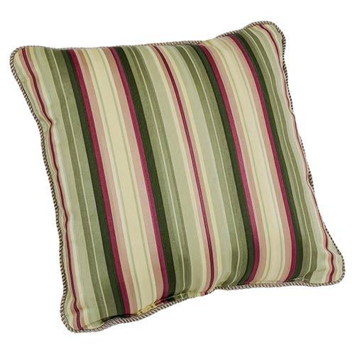 Ellis Curtain Mateo Basil 17-Inch Toss Pillow