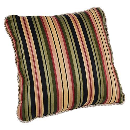 Mateo Black 17-Inch Toss Pillow