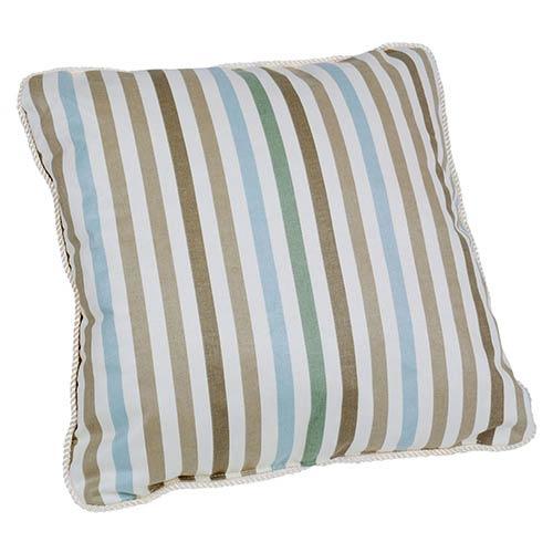 Ellis Curtain Line-Up Latte 17-Inch Toss Pillow