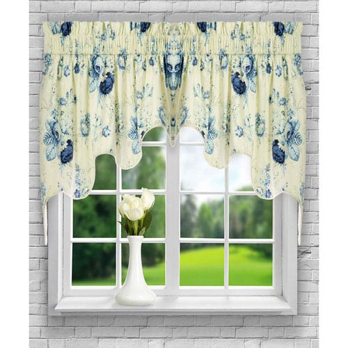 Sanctuary Rose 30 x 100-Inch Lined 2-Piece Duchess Valance