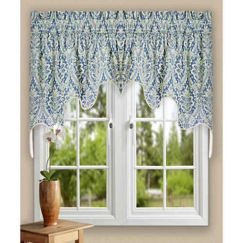 Donnington 30 x 100-Inch Lined 2-Piece Duchess Valance