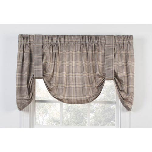 Morrison Patriot 60 x 22-Inch Tie-Up Valance