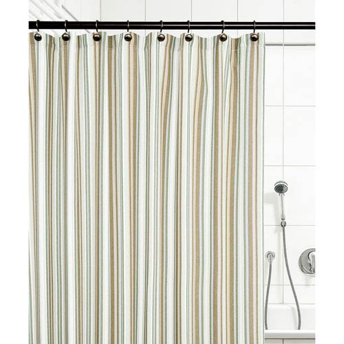Ellis Curtain Mason Stripe Spa 72 X Inch Shower