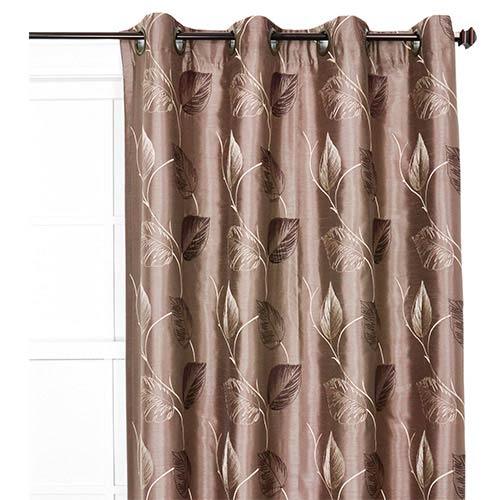 Ellis Curtain Astonish Mocha 50 X 63 Inch Curtain Single Panel