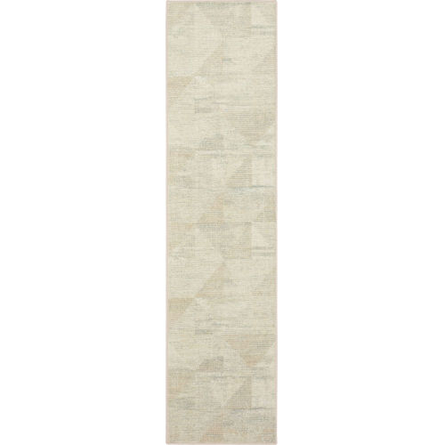 Kayenta Brown Neutral Geometric Abstract Runner: 2 Ft. x 6 Ft.
