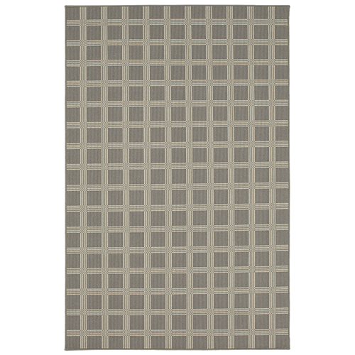Design Concepts Woolston Plaid Worldly Gray Rug