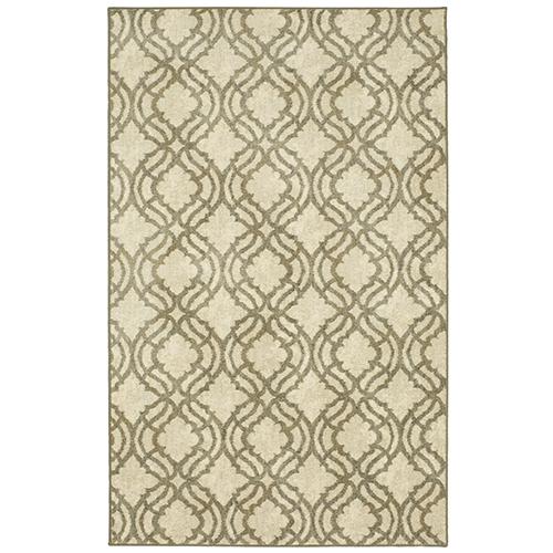 Design Concepts Revolution Potterton Victorian Willow Gray Rectangular: 8 Ft. x 10 Ft. Rug