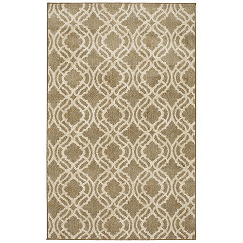 Design Concepts Revolution Potterton Chantilly Hazelnut Square: 11 Ft. 10 In. x 11 Ft. 10 In. Rug