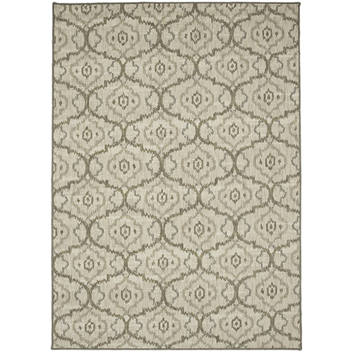 Design Concepts Simpatico Gala Cream Ivory Rectangular: 10 Ft. x 15 Ft. Rug