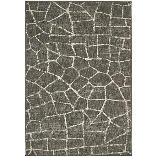 Design Concepts Coffee Charcoal Rectangular: 11 Ft. x 18 Ft. Rug