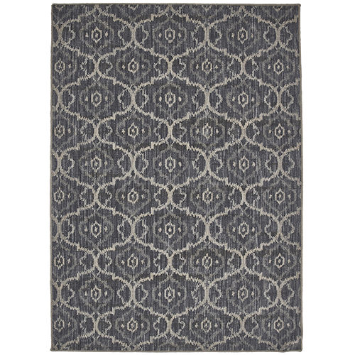 Design Concepts Simpatico Gala Denim Elephant Skin Runner: 2 Ft. 11 In. x 11 Ft. 10 In.