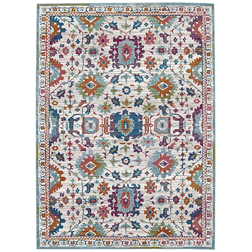 Meraki Sublime Multicolor Oyster Rug