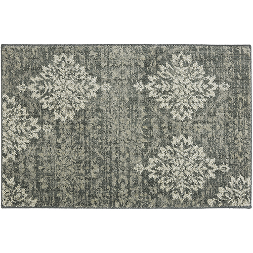 Euphoria Castor Gray Rectangular: 2 Ft. x 3 Ft. Rug