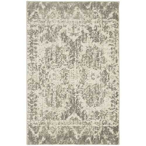 Touchstone Le Jardin Willow Gray Rectangular: 2 Ft. x 3 Ft. Rug