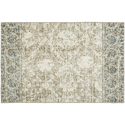 Touchstone Martinique Hazelnut Bone White Rectangular: 2 Ft. x 3 Ft. Rug