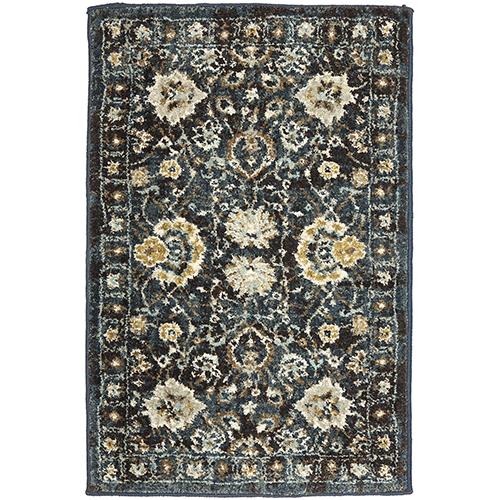 Touchstone Deveron Blue Teal Multicolor Rug