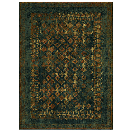 Spice Market Sapphire Multicolor Rectangular: 5 Ft. 3 In. x 7 Ft. 10 In. Rug