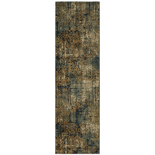 Spice Market Luciano Aquamarine Multicolor Runner: 2 Ft. 4 In. x 7 Ft. 10 In.