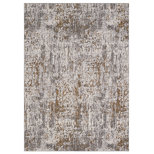 Enigma Metamorphic Brushed Gold Antique White Rectangular: 9 Ft. 6 In. x 12 Ft. 11 In. Rug