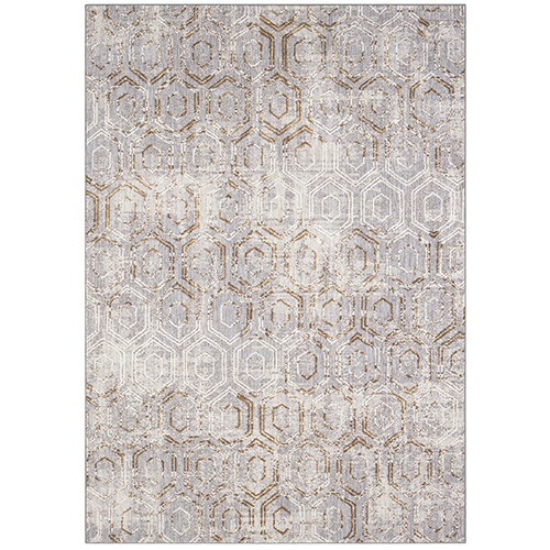 Cosmopolitan Kew Dove Antique White Runner: 2 Ft. 4 In. x 7 Ft. 10 In.