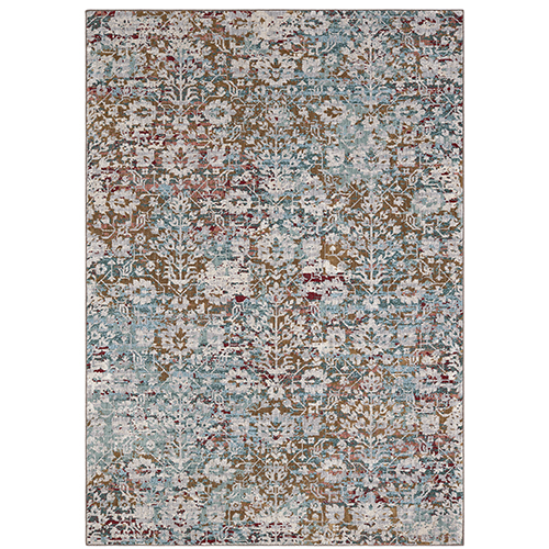 Cosmopolitan Camberwell Multicolor Antique White Rectangular: 5 Ft. 3 In. x 7 Ft. 10 In. Rug
