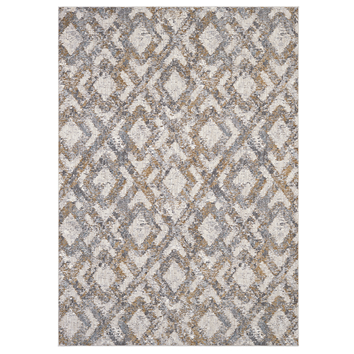 Cosmopolitan Ponson Dove Antique White Rectangular: 5 Ft. 3 In. x 7 Ft. 10 In. Rug