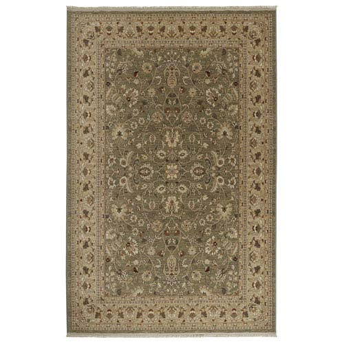 Karastan Shapura Tiana Dark Cream Rectangular: 4 Ft 3 In x 6 Ft Rug
