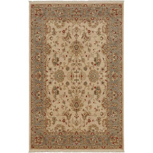 Karastan Shapura Beige Rectangular: 5 Ft. 9 x 9 Ft. Rug