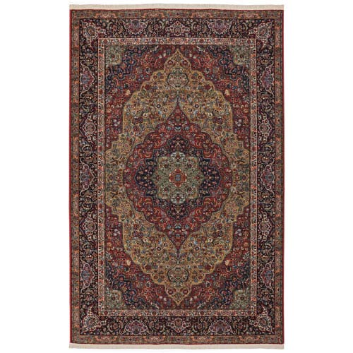 Original Multi-Colored Rectangular: 5 Ft. 9 x 9 Ft. Rug