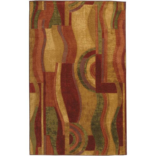 Picasso Wine Rectangular: 6 Ft. x 9 Ft. Rug